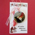 Martisor pictat - Pisicute romantice